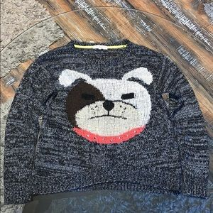 Rewind bulldog sweater